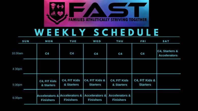Copy of 1_14_19 White & Black FAST Schedule
